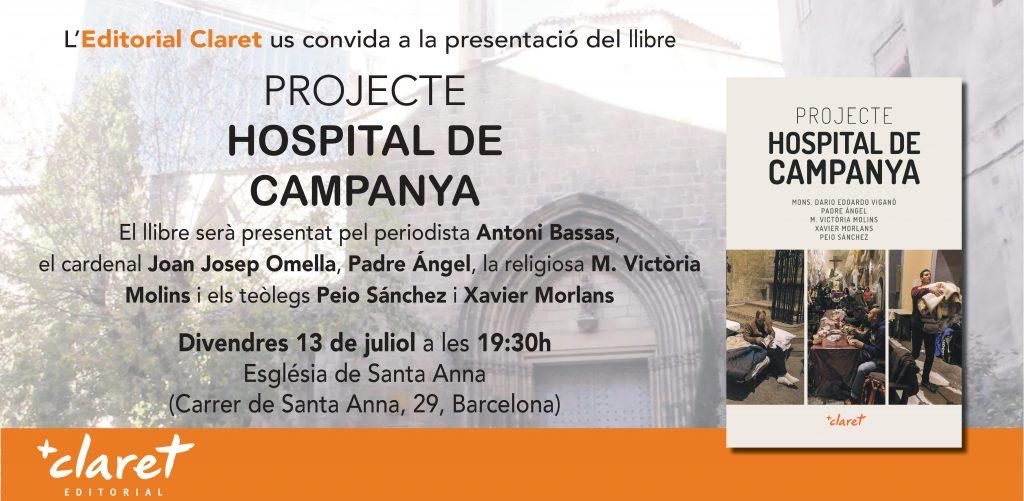 Invitació Projecte Hospital de Campanya